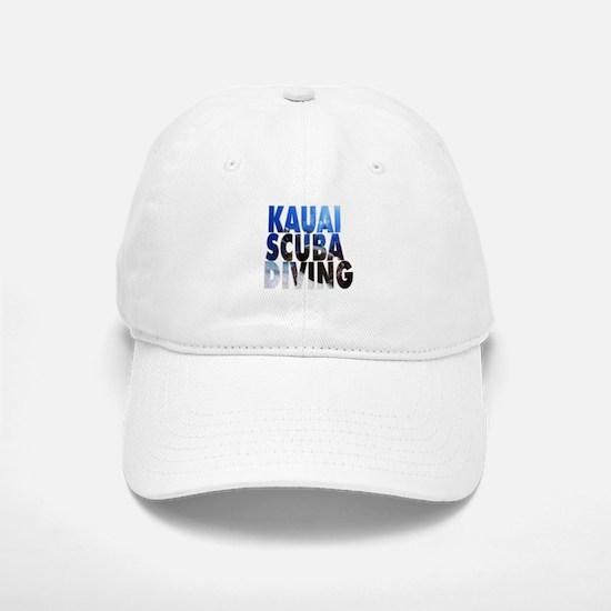 Kauai Scuba Diving Baseball Baseball Cap
