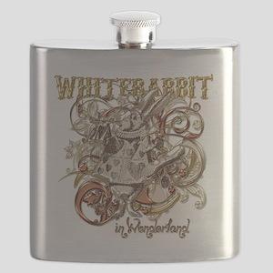 whiterabbit-flourishes-gold Flask
