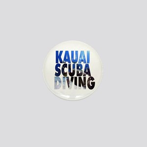 Kauai Scuba Diving Mini Button