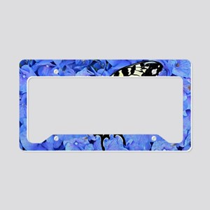 Yellow Swallowtail Butterfly  License Plate Holder