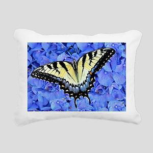 Yellow Swallowtail Butte Rectangular Canvas Pillow