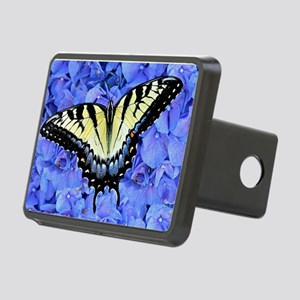 Yellow Swallowtail Butterf Rectangular Hitch Cover