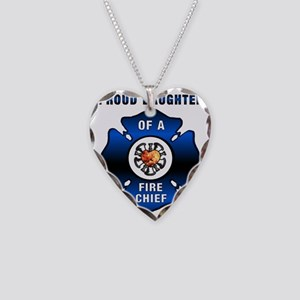 proudDAUGHTER redone Necklace Heart Charm