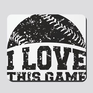 love_this_game Mousepad