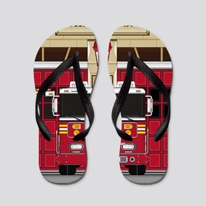 Fireman Pad19 Flip Flops