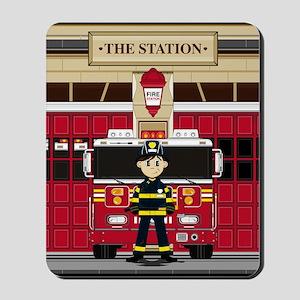 Fireman Pad19 Mousepad