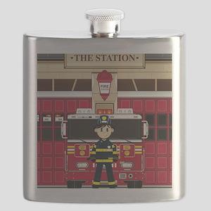 Fireman Pad19 Flask
