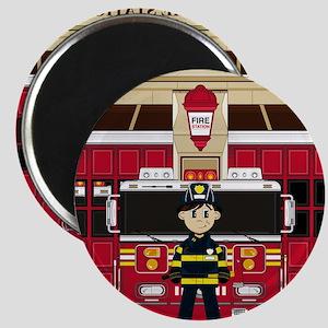 Fireman Pad19 Magnet