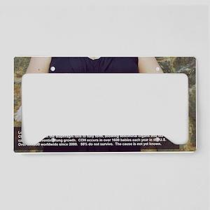 SaveTheCherubs-MarthaCatePhot License Plate Holder