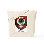 McTigue Clan Crest Tartan Tote Bag