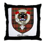 McTigue Clan Crest Tartan Throw Pillow