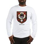 McTigue Clan Crest Tartan Long Sleeve T-Shirt