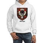 McTigue Clan Crest Tartan Hooded Sweatshirt