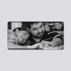 Savethecherubs-FlippinPhoto Aluminum License Plate