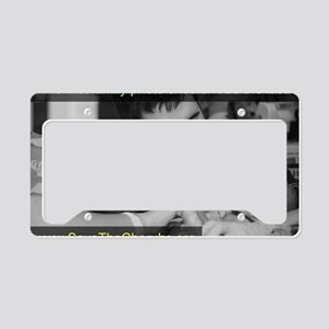 Savethecherubs-FlippinPhotogr License Plate Holder