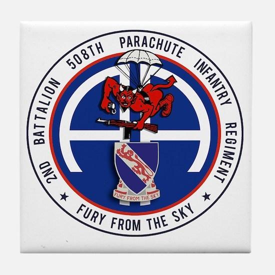 Fury 2nd 508th v1 Tile Coaster