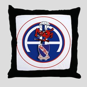 Fury 2nd 508th v1 - WHITE Throw Pillow