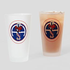 Fury 2nd 508th v1 - WHITE Drinking Glass