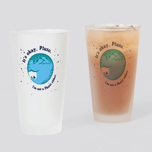 pluto long Drinking Glass