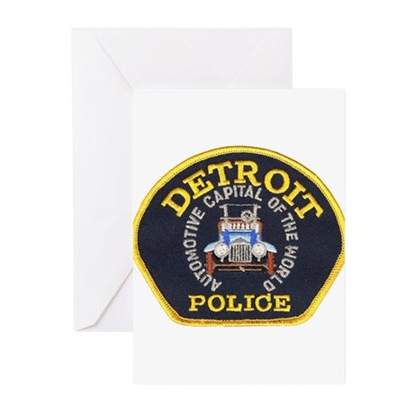 Detroit Police Greeting Cards (Pk of 10)