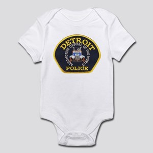 Detroit Police Infant Bodysuit