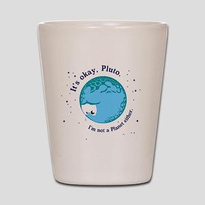 pluto long Shot Glass