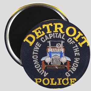 """Detroit Police 2.25"""" Magnet (10 pack)"""