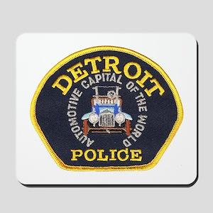 Detroit Police Mousepad