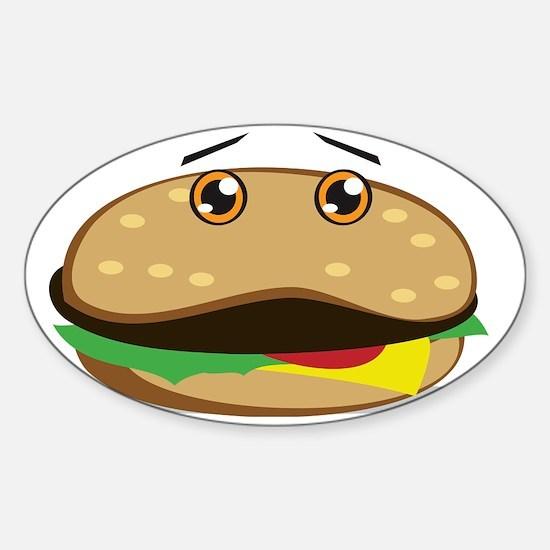 FastFood Sticker (Oval)