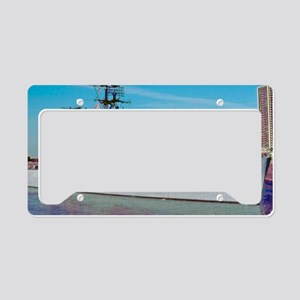 davis framed panel print License Plate Holder