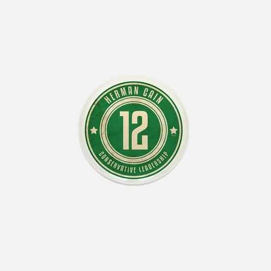 july11_herman_logo Mini Button