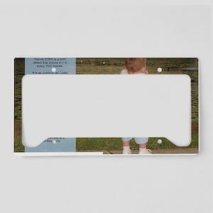 SaveTheCherubs-WilliamsonDawn License Plate Holder