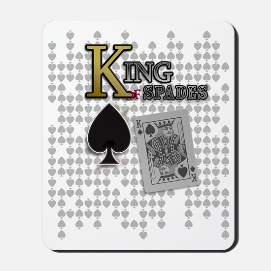 King of Spades Poker Design Mousepad