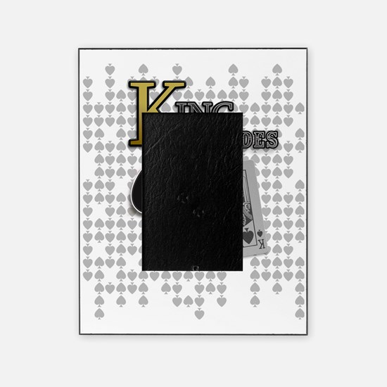 King of Spades Poker Design Picture Frame