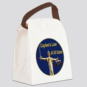 caylees_law_all_50_states_justice Canvas Lunch Bag