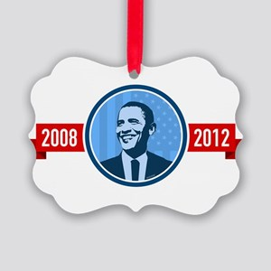 reelect-face-08-12-dark Picture Ornament