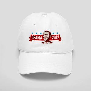 obama-2012-face2 Cap