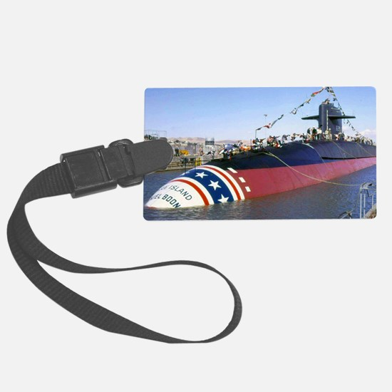 dboone small  poster Luggage Tag
