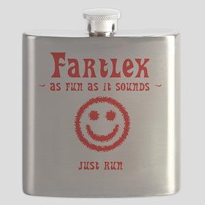 FartleksAsFunAsItSoundsWords_White Flask