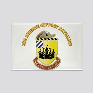 DUI - 3rd Brigade Support Bn with Text Rectangle M