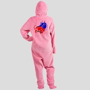 HIWAY7 OCTOMUS PRIME-large Footed Pajamas