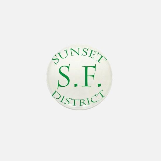 SunsetDistrict Mini Button