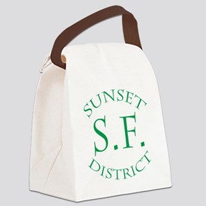 SunsetDistrict Canvas Lunch Bag