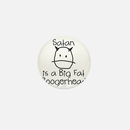 satan-boogerhead Mini Button