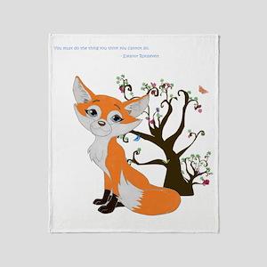 foxtrottshirtLG Throw Blanket