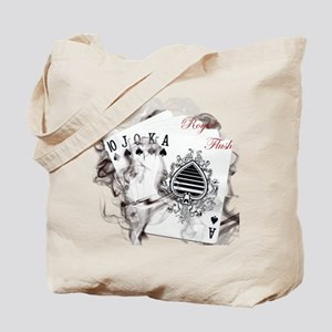 SmokinRoyalFlushB Tote Bag