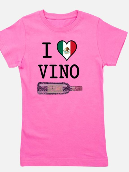 I-LOVE-VINO Girl's Tee