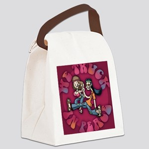 truckin-peace-BUT Canvas Lunch Bag