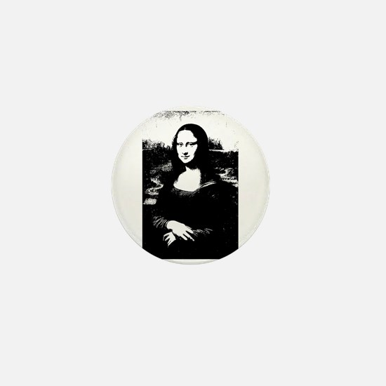 Mona Lisa Mini Button