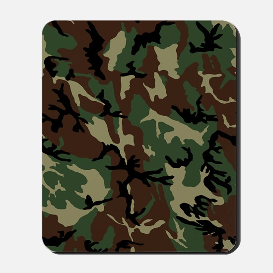 camo-green_ff Mousepad